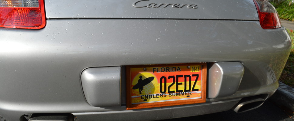... Dillonu0027s Wood License Plate Frame MX-5 Miata; 911 ... : wooden plate frames - pezcame.com
